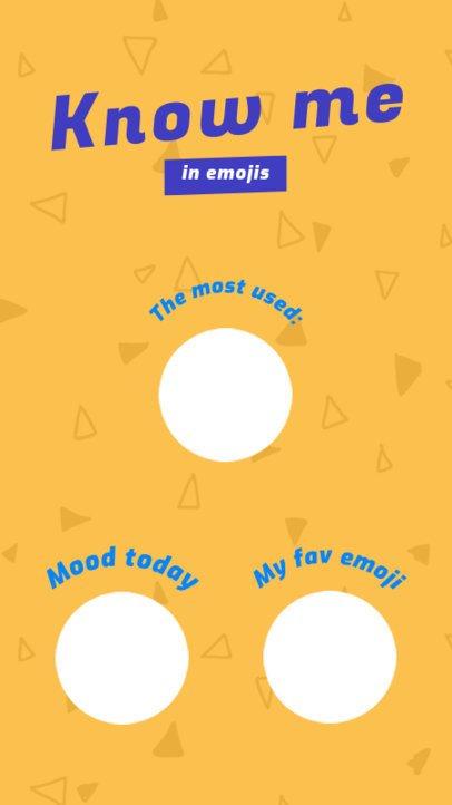 Emoji Challenge Insta Story Maker 578a