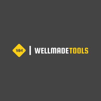 Industrial Tools Logo Maker 1416e