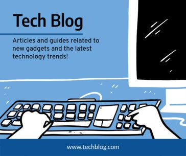 Tech Blog Post Maker for Facebook 653c
