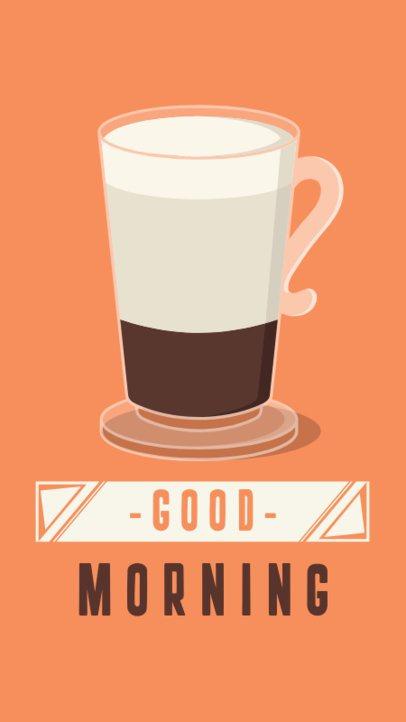 Morning Coffee Story Maker for Instagram 585b
