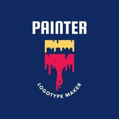 Painter Logotype Maker 1442a