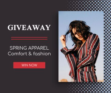 Facebook Post Template for a Spring Giveaway 645e