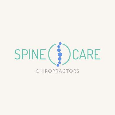 Chiropractor Logo Design Maker 1490
