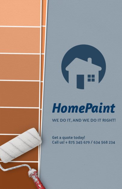 Home Painting Flyer Maker 720d