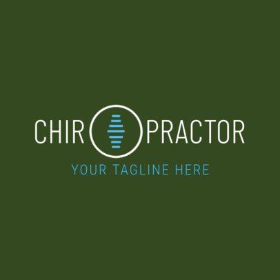 Spine Expert Logo Design Template 1490a