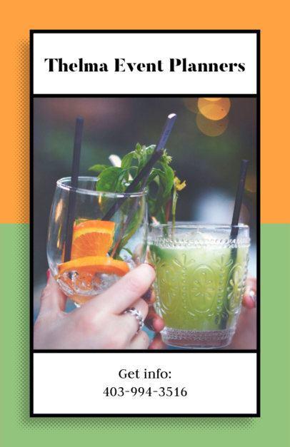 Cocktail Party Planner Flyer Maker 718d