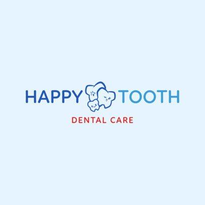 Dental Care Logo Design Template 1487