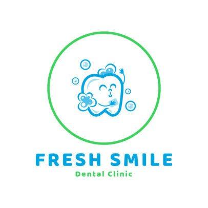 Dental Clinic Logo Template 1489b