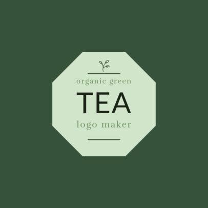Logo Template for Organic Tea Shop 1345a