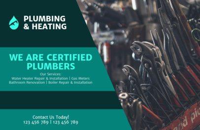 Plumbing and Heating Flyer Maker 727e