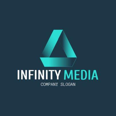 Corporate Logo Maker for a Media Company 1521a