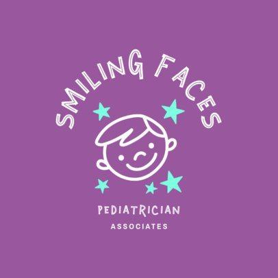 Pediatrician Specialist Logo Design Maker 1532a