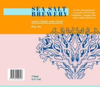 Beer Laber Maker for a Pale Ale Beer 763c