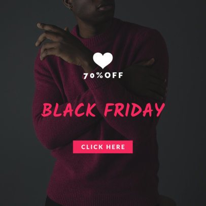 Online Banner Maker for a Black Friday Discount 754e