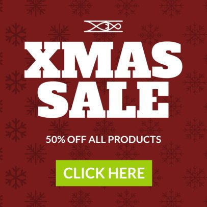 Christmas Banner Maker for an Xmas Sale 782