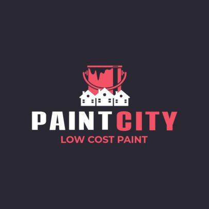 Low Cost Paint Logo Maker 1446e