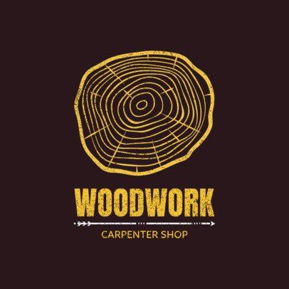 Woodworking Logo Maker 1550b