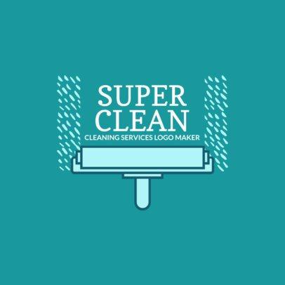 Logo Generator for Super Clean Company 1446c