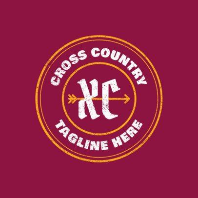 Cross Country Logo Generator 1564a