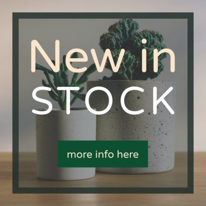 Online Ad Creator for Ceramic Store with New Arrivals 532d