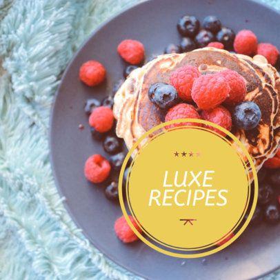Online Banner Maker for Food Recipes 16586a
