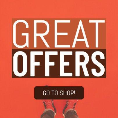 Sales Offers Banner Design Template 543d
