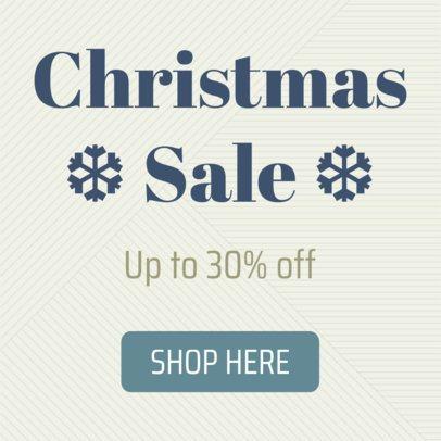 Minimalistic Christmas Sale Banner Creator 785e