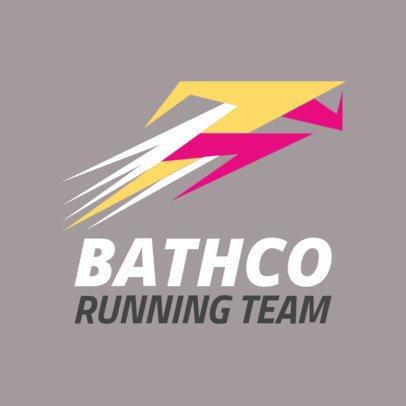Running Team Logo Generator 1544a