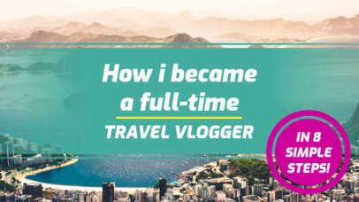 YouTube Thumbnail Maker for a Travel YouTube Channel 897