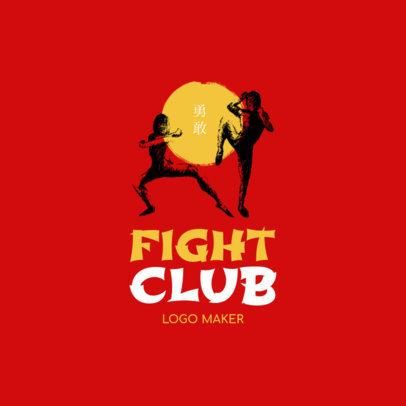 Martial Arts Logo Generator for a Fight Club 1605b