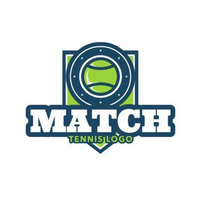 Tennis Logo Template for a Tennis Club 1602a