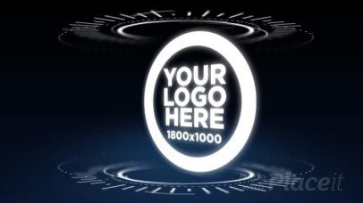 Intro Maker for a Futuristic Logo Reveal 10a 974