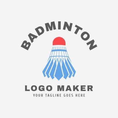 Badminton Logo Maker  1631