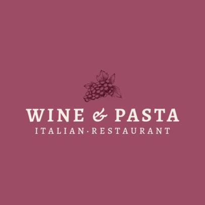 Italian Food Logo maker 1659d