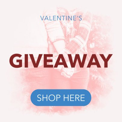 Ad Banner Maker for a Valentine's Giveaway 1047e