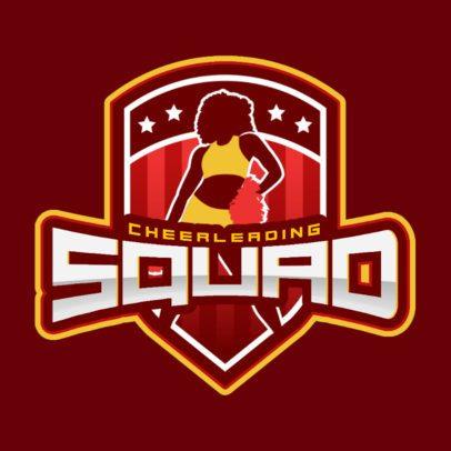 Cheerleading Squad Logo Maker 1599e