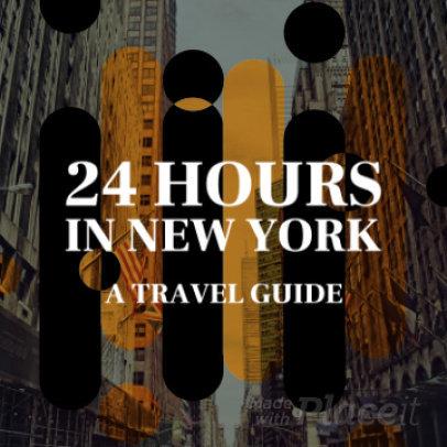Content Teaser Slideshow Video Maker for an Instagram Travel Guide Video 38a 1060