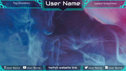 Twitch Overlay Maker with Smoke Bomb Images 1063