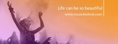 Facebook Cover Template for a Music Page 1086e
