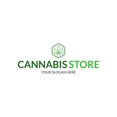 Marijuana Logo Maker for a Cannabis Store 1781