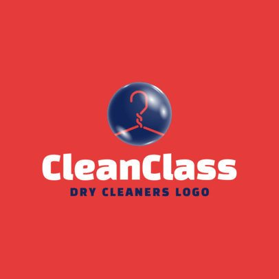 Dry Cleaners Logo Template 1773d