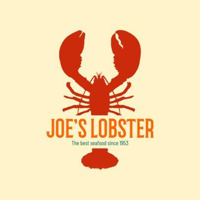 Seafood Logo Maker for a Restaurant 1799