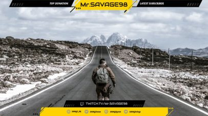 Twitch Overlay Maker for Shooting Games 1065e