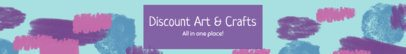 Etsy Banner Maker for an Arts and Crafts Shop 1113d