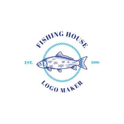 Fishing Logo Maker for a Fishing House 1793