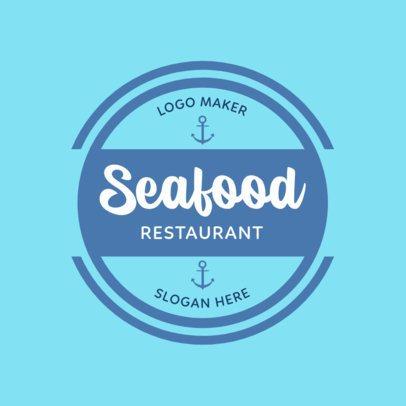 Seafood Logo Maker with Custom Badges 352d