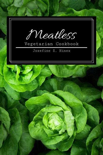 Cookbook Cover Maker Featuring Vegetables 923c