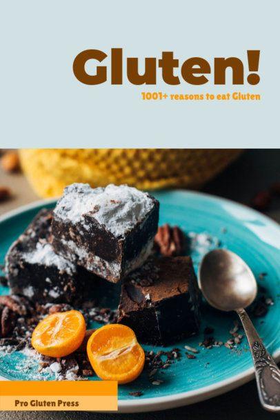 Minimalistic Cookbook Cover Maker 926e
