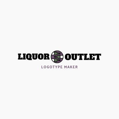 Liquor Store Logo Generator for a Wine Shop Logo 1812d
