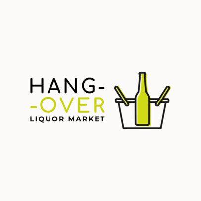 Fun Logo Design Generator for a Liquor Store 1814e